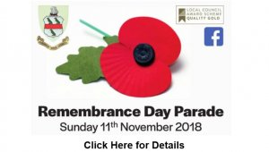 Remembrance Day Parade - Volunteers Needed