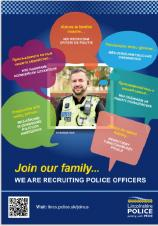 Force Opens Latest Recruitment Drive with a Focus on Family, the County and Diversity